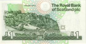 Schottland / Scotland P.351b 1 Pound 1991 (1)