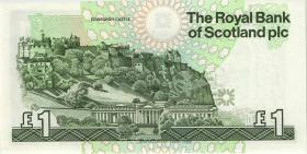 Schottland / Scotland P.351a 1 Pound 1990 (1)