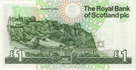 Schottland / Scotland P.351r 1 Pound 1989 replacement (1)