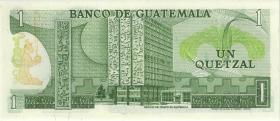 Guatemala P.059c 1 Quetzale 1980 (1)