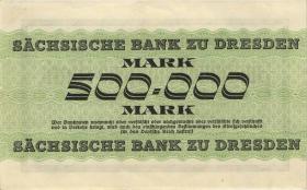 R-SAX 18: 500.000 Mark 1923 (1/1-)