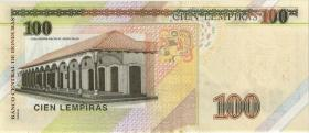 Honduras P.102c 100 Lempiras 2016 (1)