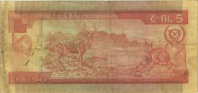 Äthiopien / Ethiopia P.31a 5 Birr (1976) (3)