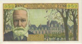 Frankreich / France P.141 5 Neue Francs 2.7.1959 (2+)