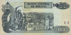 Bolivien / Bolivia P.243 10 Bolivianos (2015) (1)