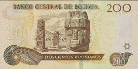 Bolivien / Bolivia P.247 200 Bolivianos (2015) (1)
