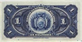 Bolivien / Bolivia P.118 1 Boliviano 1928 (1-)
