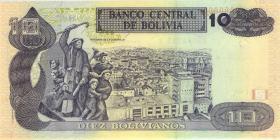 Bolivien / Bolivia P.204c 10 Bolivianos (1997) (1)