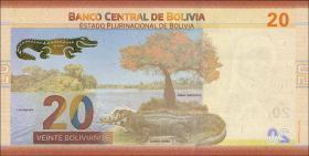 Bolivien / Bolivia P.neu 20 Bolivianos (2018) (1)