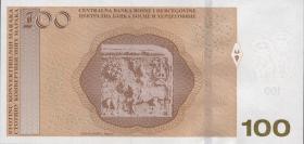 Bosnien & Herzegowina / Bosnia P.086b 100 Konver. Marka 2017 (1)
