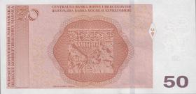 Bosnien & Herzegowina / Bosnia P.84b 50 Konver. Marka 2017 (1)
