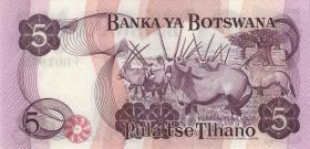 Botswana P.03 5 Pula (1976) (1/1-)