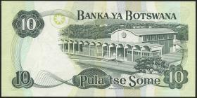 Botswana P.04a 10 Pula (1976) (1)