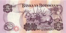 Botswana P.08c 5 Pula (1982) (1)