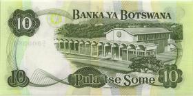 Botswana P.09a 10 Pula (1982) (1)