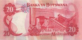 Botswana P.10b 20 Pula (1982) (1/1-)