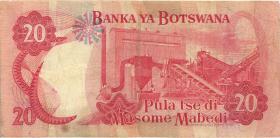 Botswana P.10c 20 Pula (1982) (3)