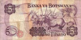 Botswana P.11a 5 Pula (1992) (3)