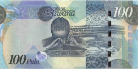Botswana P.33b 100 Pula 2010 (1)