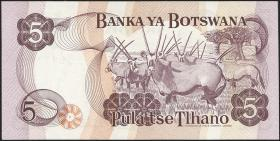 Botswana P.03 5 Pula (1976) (1)
