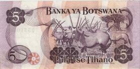 Botswana P.08b 5 Pula (1982) (3)