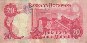 Botswana P.10a 20 Pula (1982) (3)
