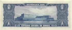 Brasilien / Brazil P.150a 1 Cruzeiro (1954-58) (1)
