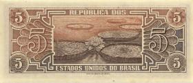 Brasilien / Brazil P.166a 5 Cruzeiros (1961-62) (1)