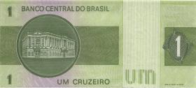 Brasilien / Brazil P.191Ac 1 Cruzeiro (1980) (1)