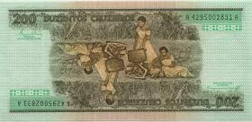 Brasilien / Brazil P.199 200 Cruzeiros (1981-84) (1)
