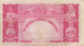 British Caribbean Territories P.07b 1 Dollar 1957 (3)