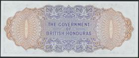British Honduras P.29c 2 Dollars 1973 (1)
