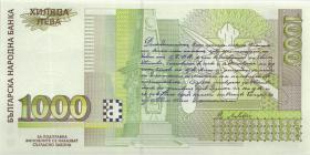 Bulgarien / Bulgaria P.110 1000 Lewa 1997 (1)