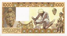 Burkina Faso P.307Cb 1000 Francs 1981 (2)