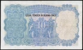 Burma P.02b 10 Rupien (1937) (3+)