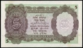 Burma P.26b 5 Rupien (1945) (1)