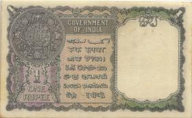Burma P.30 1 Rupie (1947) (1-)