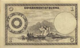 Burma P.34 1 Rupie (1948) (1)