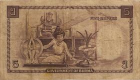 Burma P.35 5 Rupien (1948) (3)
