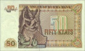 Burma P.60 50 Kyats (1976) (1)