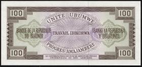 Burundi P.23b 100 Francs 1973 (1)