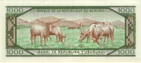 Burundi P.31d 1000 Francs 1988 (1)