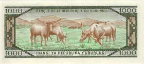 Burundi P.31d 1000 Francs 1989 (1)