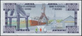 Burundi P.32s 5000 Francs 1978 Specimen (1)