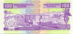 Burundi P.37c 100 Francs 2001 (1)