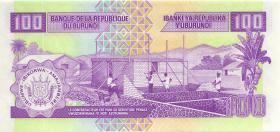 Burundi P.37e 100 Francs 2006 (1)