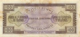 Burundi P.23a 100 Francs 1968 (3)