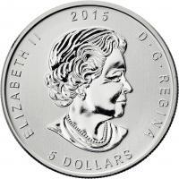 Canada Silber-Unze 2015 Eule