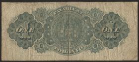 Canada P.018b 1 Dollar 1898 (4/5)