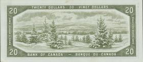 Canada P.080b 20 Dollars 1954 (1/1-)